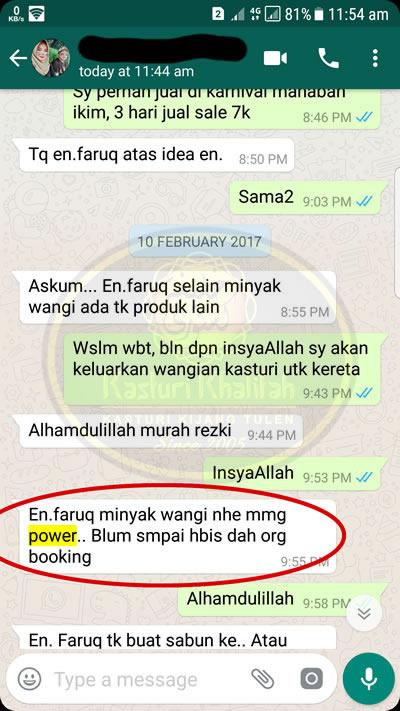 testimonial kasturi kijang khalifah